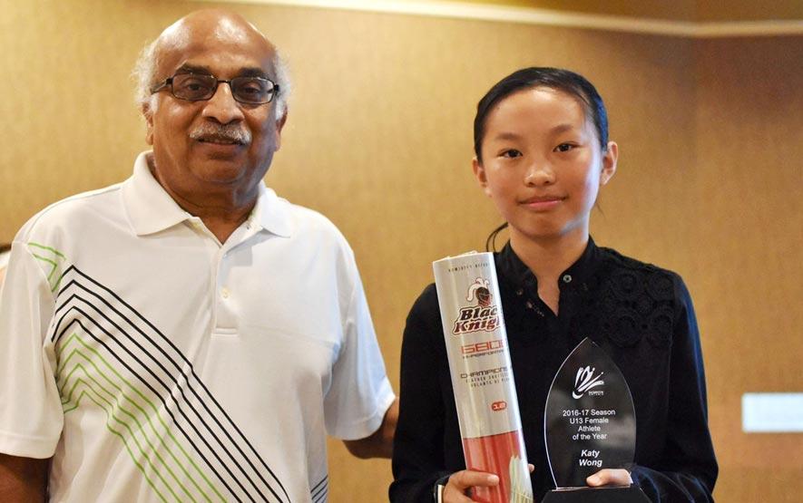 2017 Badminton Ontario Awards Banquet