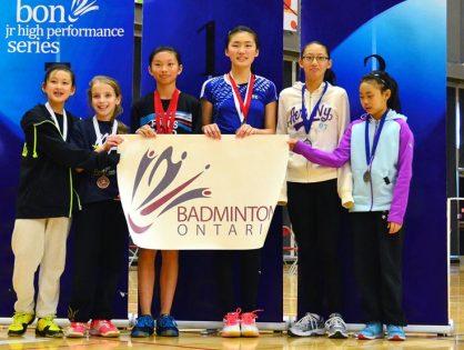 16.17 Badminton Ontario Jr HP A Series CHAMPIONSHIP