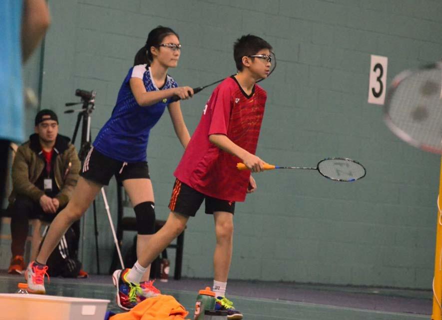17.18 Badminton Ontario Jr HP A #5 - Mandarin | Su Badminton Club