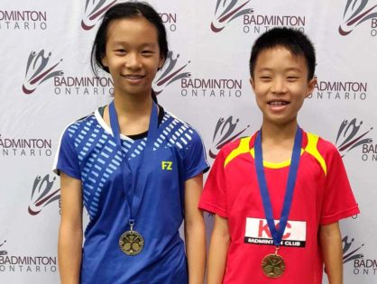 18.19 Badminton Ontario Jr B #1 - Progress