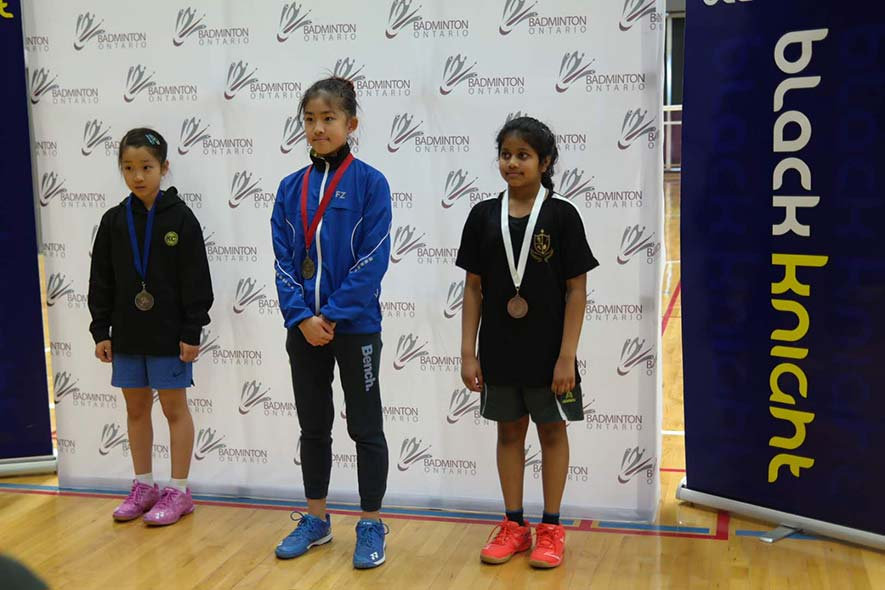 18.19 Badminton Ontario Jr A Championships