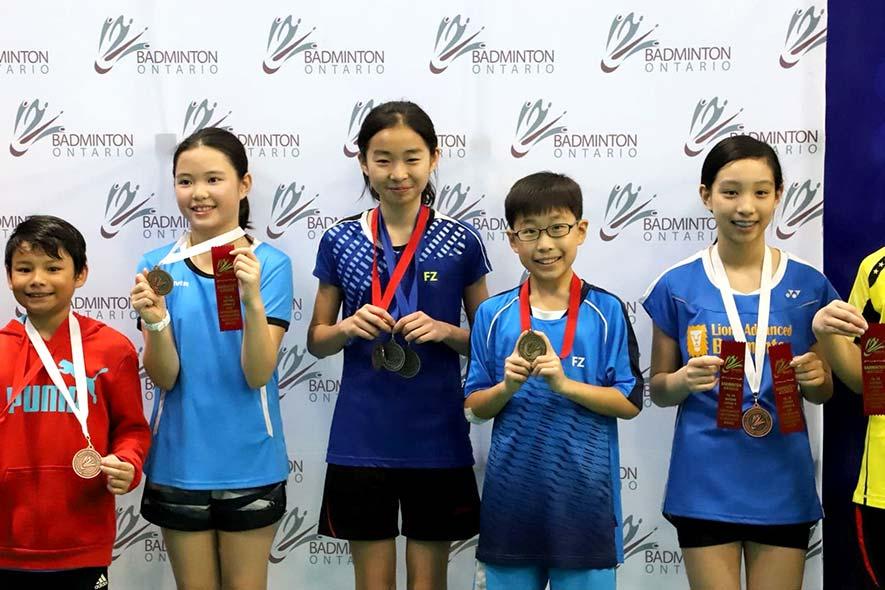 18.19 Badminton Ontario Jr B Championships