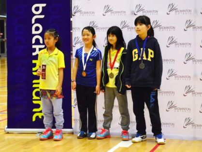 17.18 Badminton Ontario Jr HP A Championships